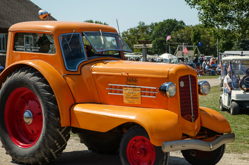 Minneapolis Moline First Cabbed Tractor