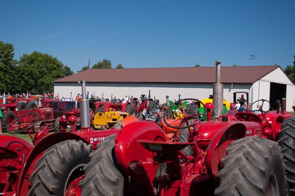 Tractors galore