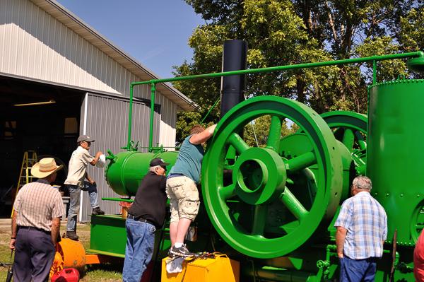 Buckeye Oil Engine