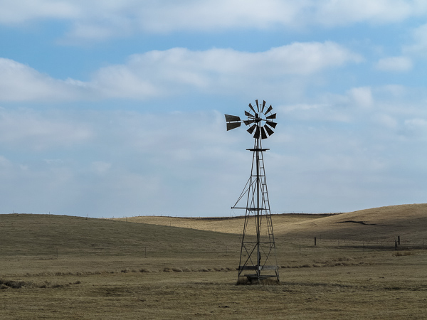 Windmill Stands Alone