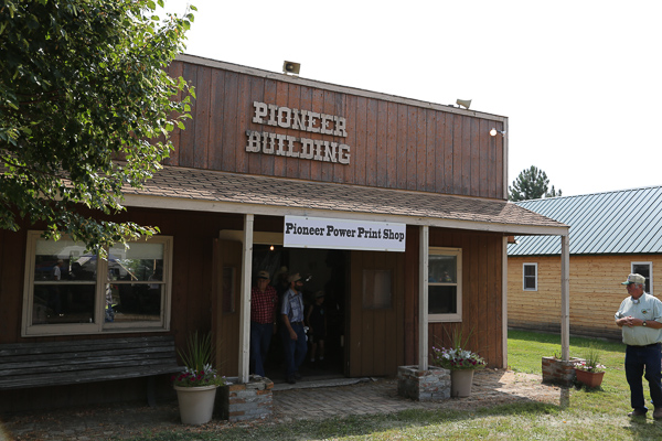 Print Shop at Pioneer Power
