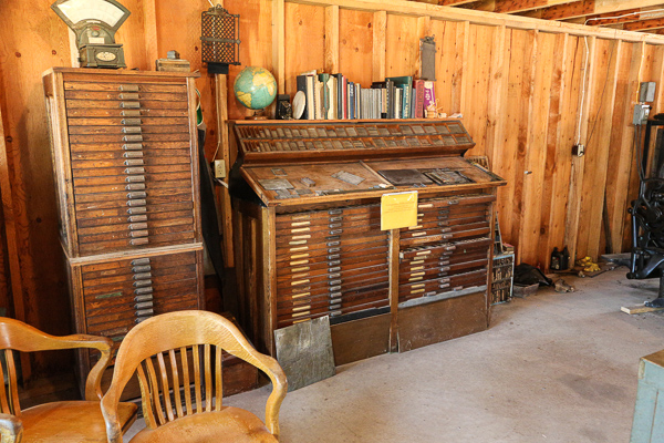 Typesetting Cabinet