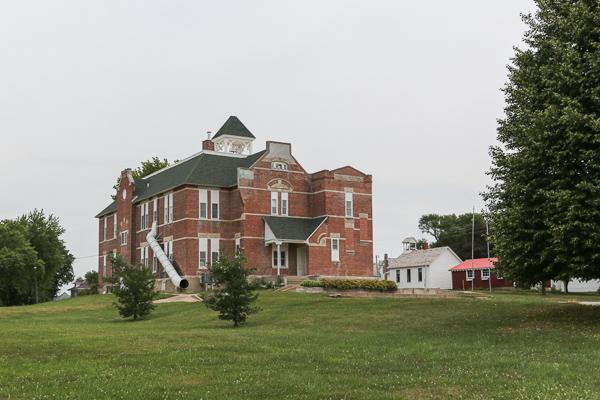 Old Main of Stanton Iowa | Fleeting Farms