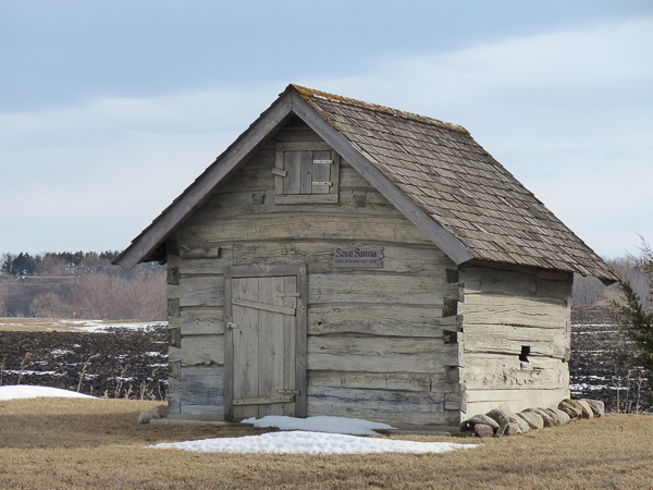 Believed to be the oldest Sauna in North America