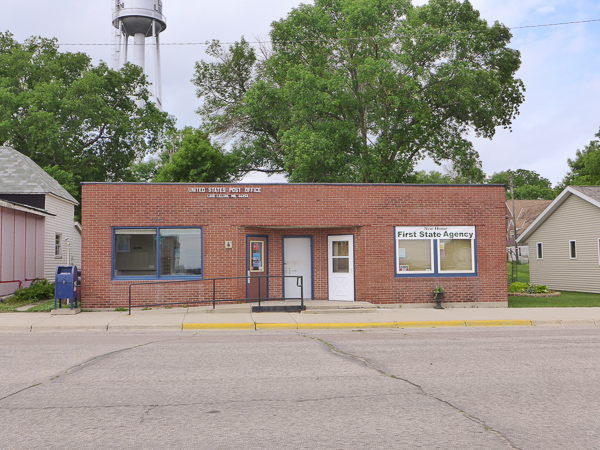 U.S. Post Office, Lake Lillian, Minn.  56253