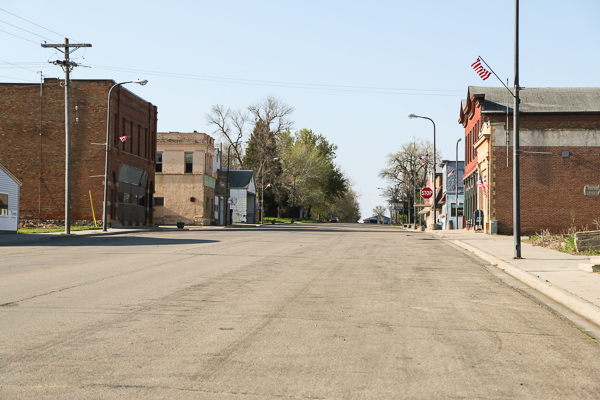 Main Street, Currie Minnesota