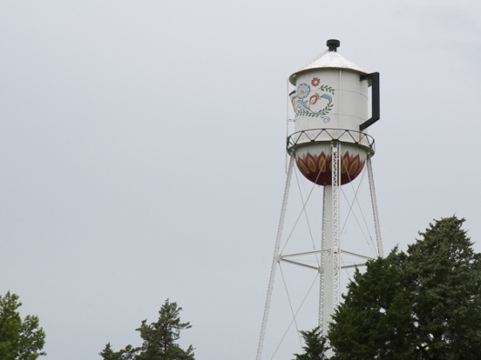 Coffee Pot Water tower