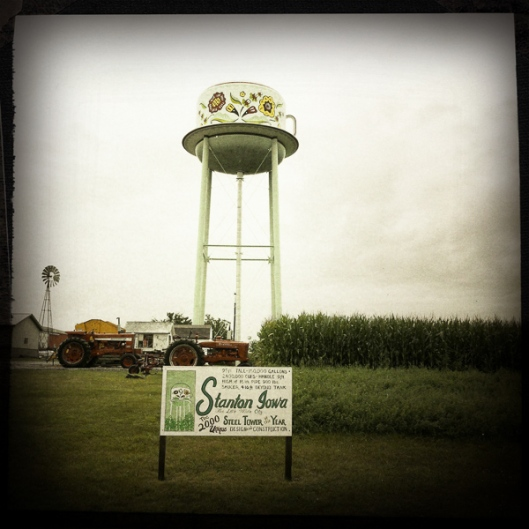 Cup and Saucer Water tower