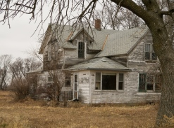 Weathered Farm House