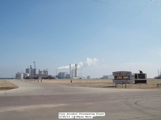 More images that show the underpinnings of the agricultural economy. The last being a corn alcohol processing plant.